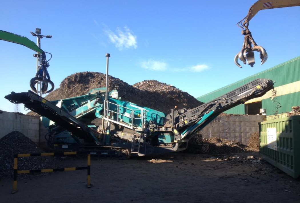 Clasificacion de material en siderurgia